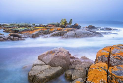 The Bay of Fires on Tasmania's northeastern coast. (Photo: Fotolia)