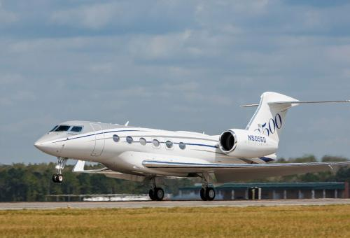 Inside Gulfstream's G500 With Full Production Interior