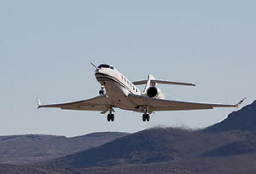 G500 Test Flight to NBAA 2015