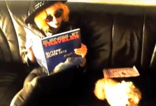 Lady Gaga Reads BJT