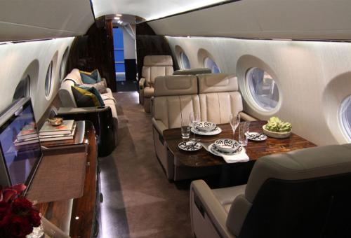 Preview the Gulfstream G600 Business Jet Cabin