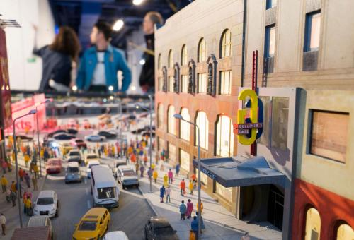 The largest interactive museum of its kind, it opened last year just off Times Square in New York.