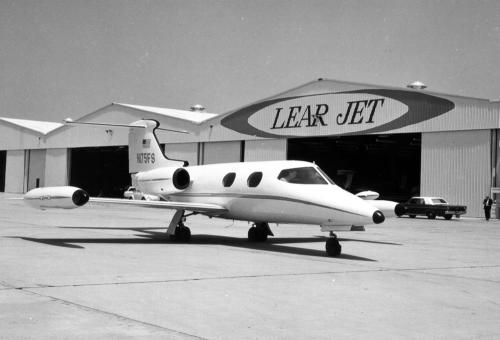 Learjet 23 (Courtesy of Flexjet)