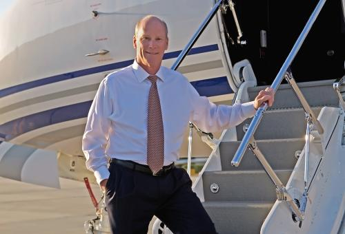 Larry Flynn, President of Gulfstream Aerospace