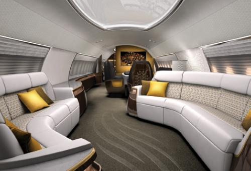Large-cabin jets at turboprop prices