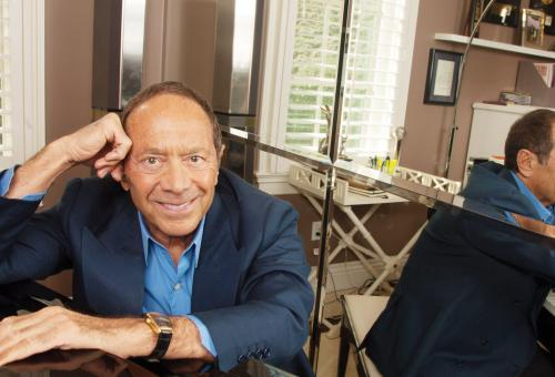 Paul Anka at piano