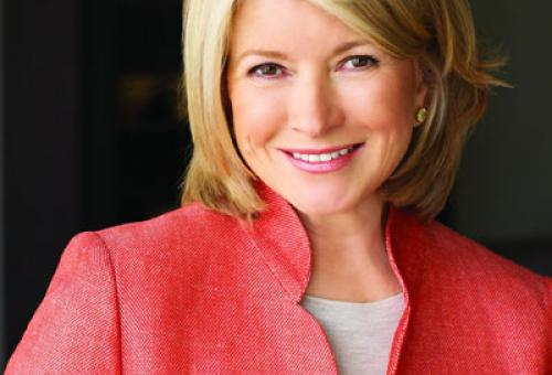 Martha Stewart Creates Menus for Charter Operator