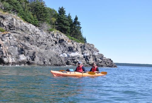 Now's the Time to Kayak Off the Maine Coast