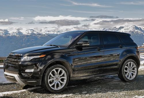Range Rover Evoque (photo: Nigel Moll)