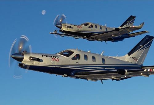 Daher's TBM 910 and 930 Single Engine Turboprops Fly at Jet Speeds