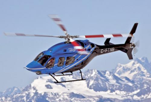 The Bell 429 has inherited some systems and parts from earlier Bell helicopte