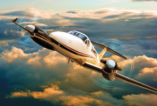Hawker Beechcraft's King Air 250