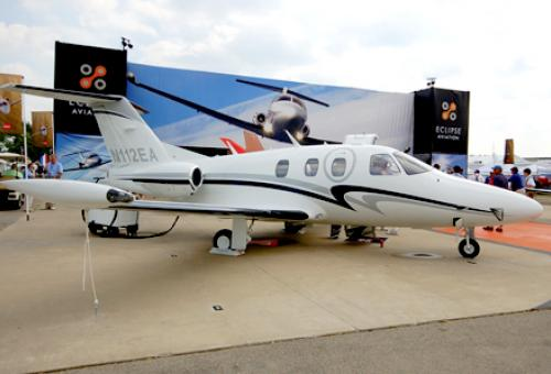 Going once, going twice...sold! An Eclipse 500 very light jet was sold to hig