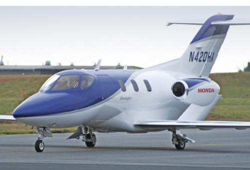 Honda chose to build, test fly and validate the HondaJet's performance and ca