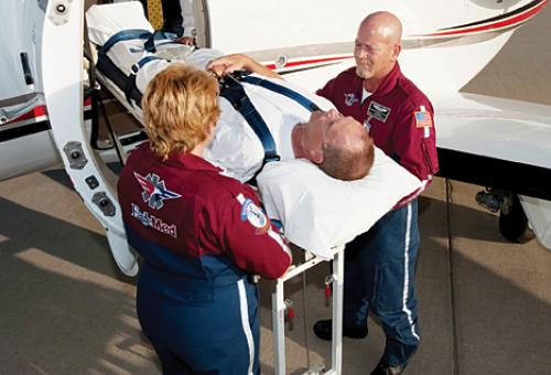 Experts cite a host of reasons why your business jet is unsuited for air-ambu