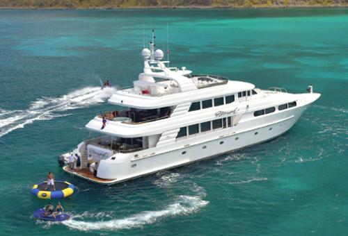 Arguably one of the best charter yachts in the world is Excellence III, a 187