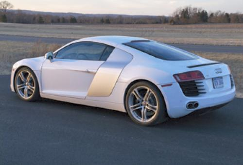 With that Scowl, one wonders if Audi chose the name 'R8' as a digital play on