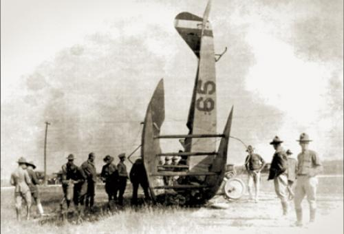 In aviation's early years, accidents occurred much more frequently than they