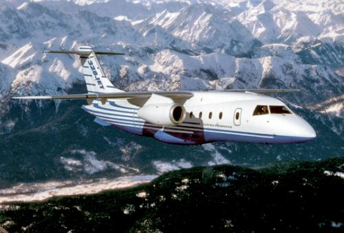 No other airplane can take the loads this one can out of short runways said a