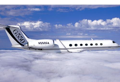 Gulfstream introduced the aerodynamically advanced G550 in 2003. Its cabin is