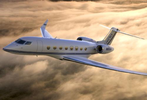 The clean-sheet G650, shown here in an artist's rendering, Still looks every