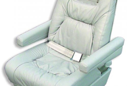 A cushion system, such as that employed in the seats from Orego Aero, uses as