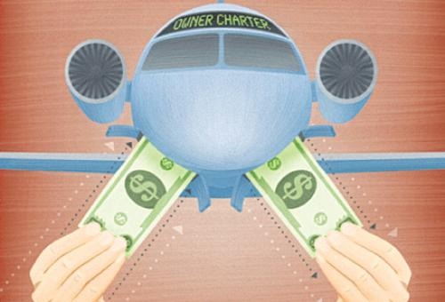 Chartering your own aircraft can help you save on sales and use taxes and, in