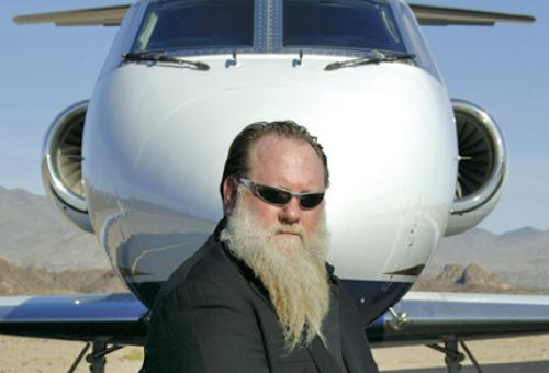 """I said, """"I'm gonna get me a private jet. If I had my own airplane, I'd be out"""