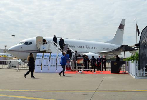 BBJ on display at ABACE