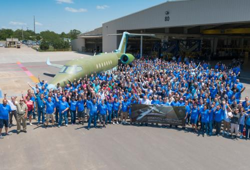 Textron Rolls Out First Production Citation Longitude