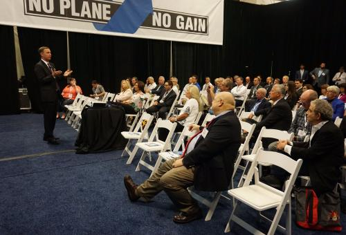 At Bizav Forum, CEO Urges Action Ahead of ATC Vote
