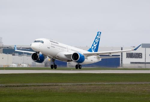Airbus Agrees To Take Majority Stake in Bombardier C Series