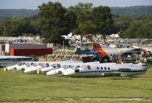 End of the Line: Bizjets to Beer Cans?