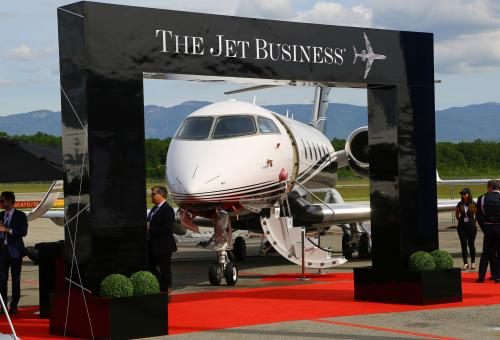 Preowned business jet