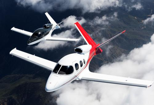 Cirrus Aircraft Wins Collier Trophy for SF50 Vision Jet