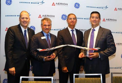 Aerion Unveils Engine for Supersonic AS2
