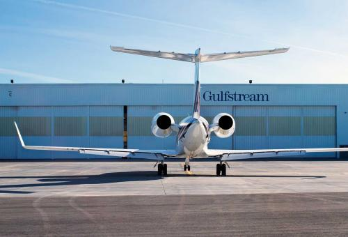 Gulfstream service center, Long Beach, California