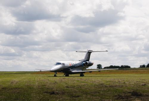 PC-24 Shows Versatility with Grass Strip Touchdown