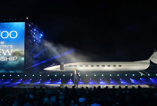 Gulfstream Ups the Ante with New G700 Flagship