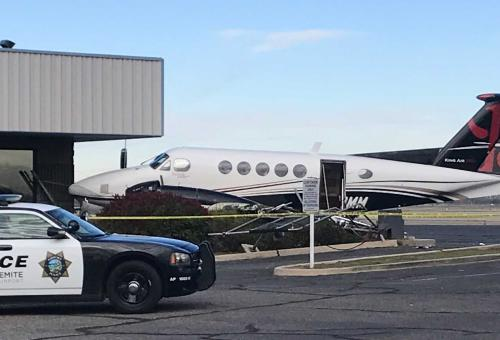 17-Year-Old Crashes Stolen King Air