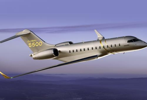 Bombardier's Global 5500 Enters Service