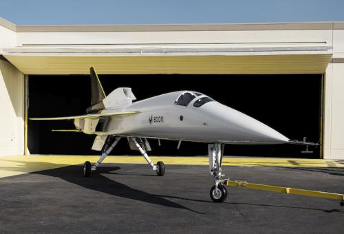 Boom Rolls Out XB-1 Demonstrator