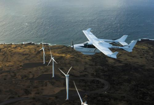 Surf Air Mobility Acquiring Electric Aviation Pioneer Ampaire