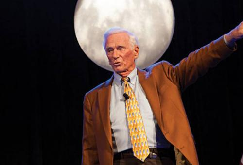 Gene Cernan belonged to an elite club: he flew to the Moon twice and was the last human to walk on its surface, in December 1972.