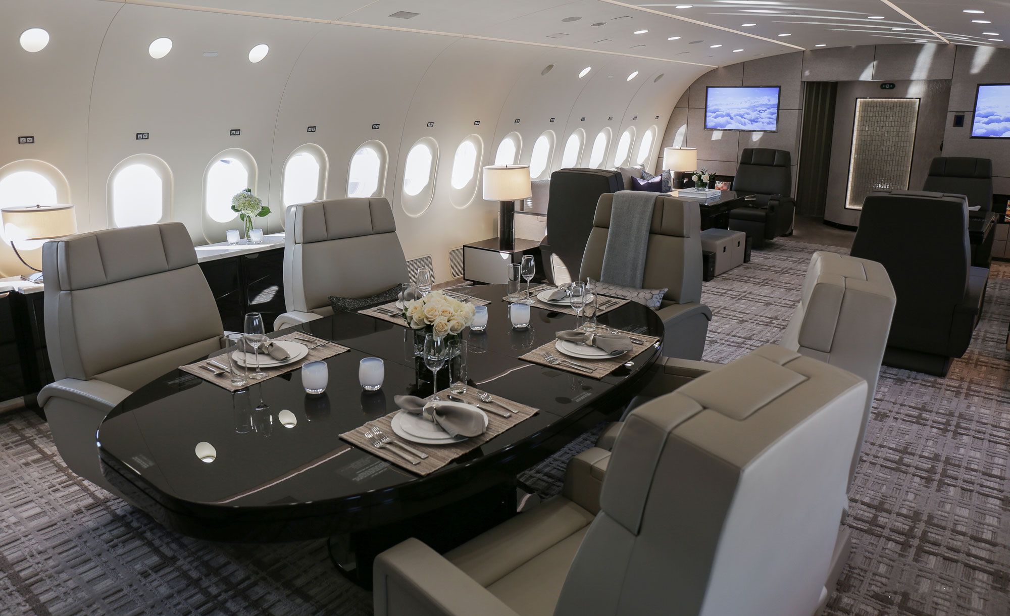 Car Buying Sites >> Greenpoint Delivers Second VIP Dreamliner | Business Jet ...